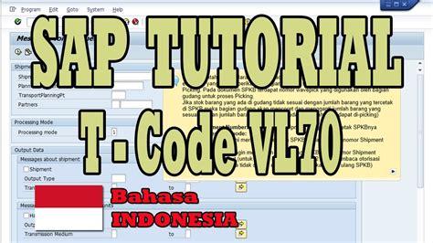Tutorial Sap Bahasa Indonesia Pdf   tutorial sap cetak spkb vl70 bahasa indonesia youtube