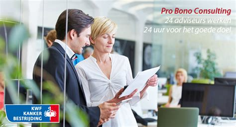 Mba Pro Bono Consulting by Pro Bono Consulting 24 Adviseurs Voor Goede Doel