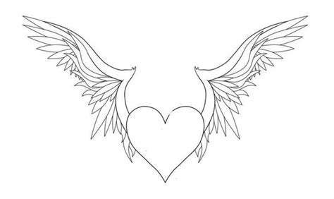 wings of coloring pages hearts with wings coloring pages coloring home