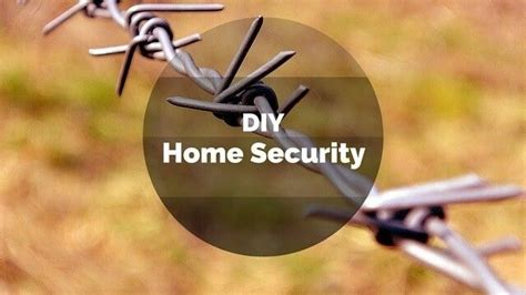 diy home security home safe home diy and