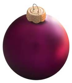christmas decorations 2 75 quot plum ball ornament matte