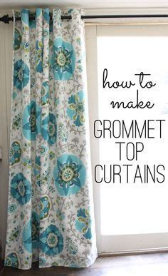 make your own grommet curtains 25 best ideas about grommet curtains on pinterest