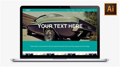 design web layout illustrator learn how to design a responsive website in adobe