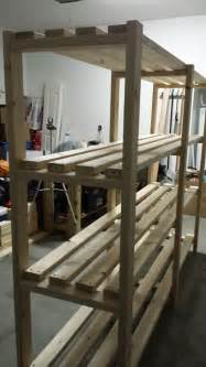 Garage Shelving Diy 2x4 White Great Plan For Garage Shelf Diy Projects