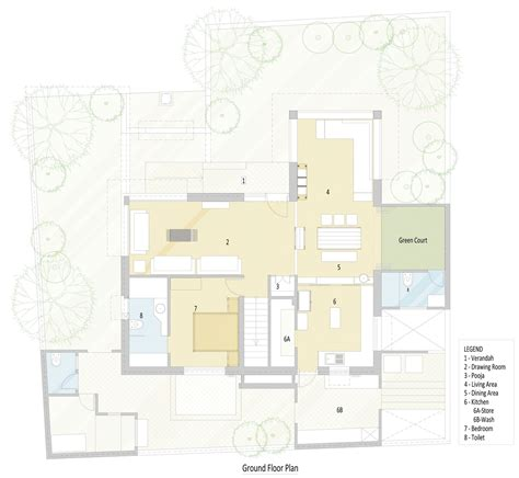 green house designs floor plans green house designed by hiren patel architects