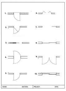 Architectural Symbols Floor Plan Photo Architectural Symbol For Door Images Custom