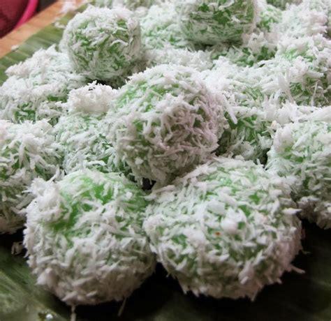resep cara membuat kue klepon onde onde masakan kuliner jajanan sehat kue basah kelepon tradisional