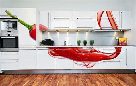 The Kitchen Designer moderne wandgestaltung mit fototapeten coole ideen f 252 r