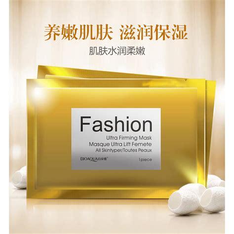 Review Masker Wajah Bioaqua bioaqua masker wajah silk protein 30g golden