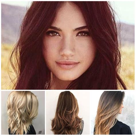 Hair Hairstyles by To Medium Layered Hairstyles 2018 Hairstyles