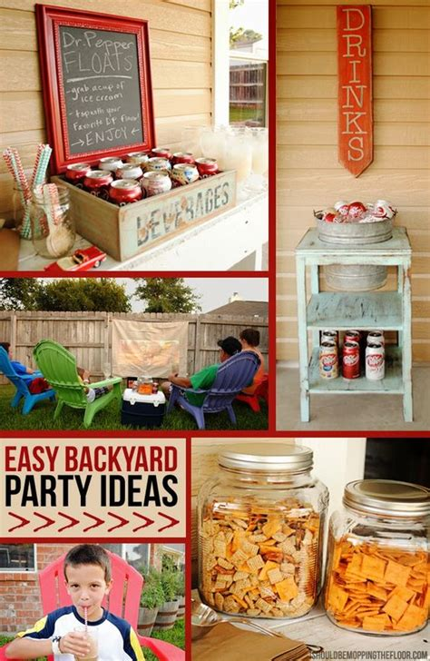 backyard bash party ideas easy backyard bash ideas pinterest shops the o jays and summer parties