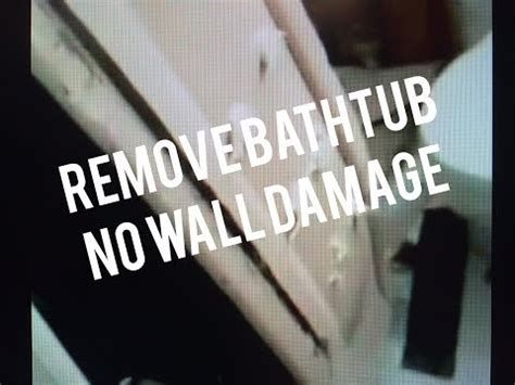 how to remove a steel bathtub how to remove steel bathtub without destroying bathroom