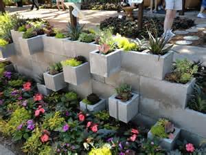 seeking a greener thumb cinder block succulent planter