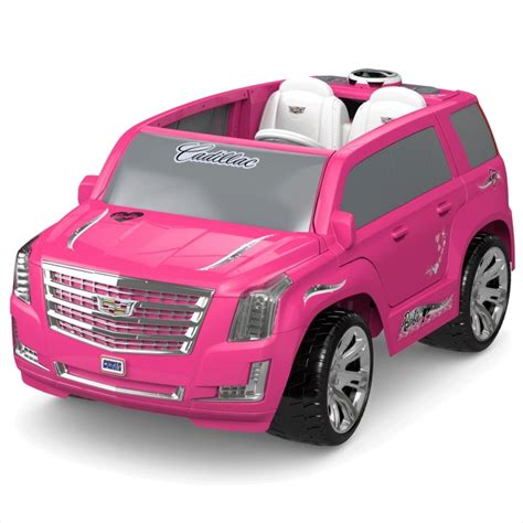 pink cadillac escalade power wheels bbr baby rakuten global market fisher price power
