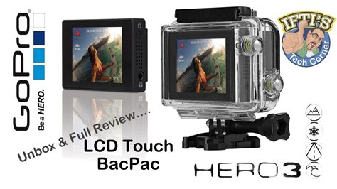 Gopro Lcd Touch V401 gopro 3 lcd touch bacpac unbox review
