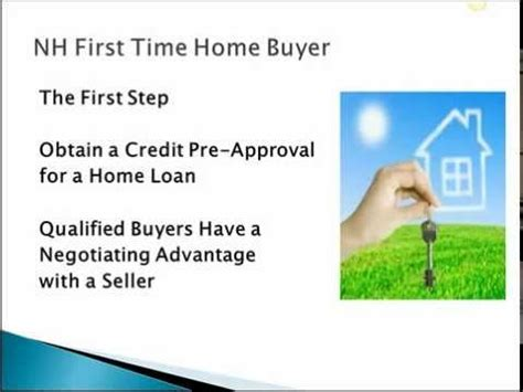 wilton nh time home buyer tips