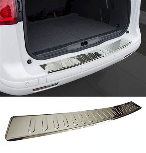 Cover Bumper Belakang Ford Eco Sport Chrome ford kuga mk1 1 i 2008 2012 rear bumper protector guard
