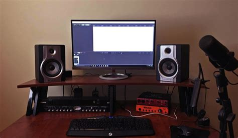 the gallery for gt mac home recording studio setup
