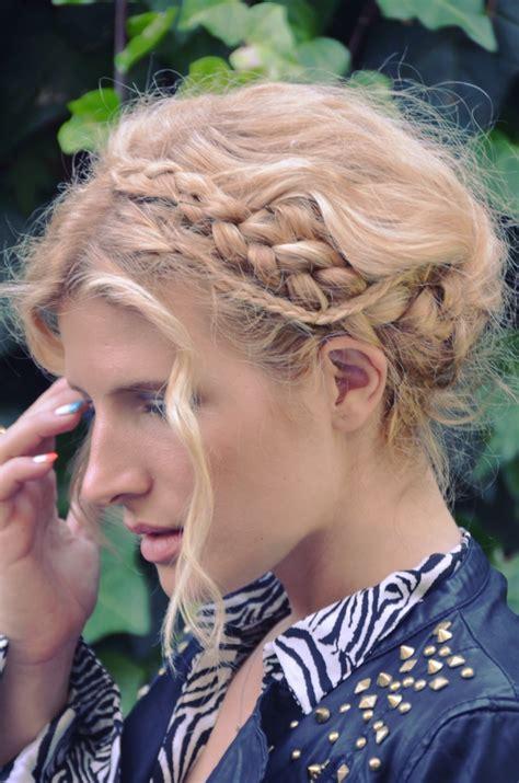 hair in days mr kate diy swiss braids braid crown hair tutorial