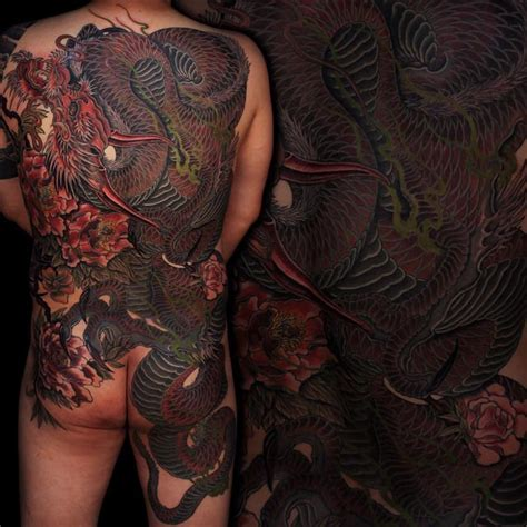 tattoo yakuza back yakuza dragon tattoo on back japanese tattoo pinterest