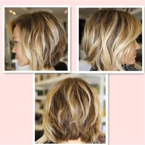 gallery blonde highlights onbre new ombre color wave bob hairstyle brown with blonde side
