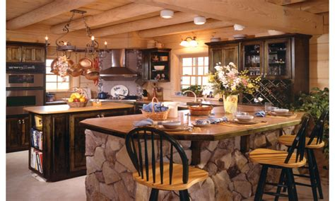 design your own log home design your own kitchen island country log home kitchen