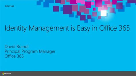 id馥 am駭agement bureau identity management is easy in office 365 microsoft