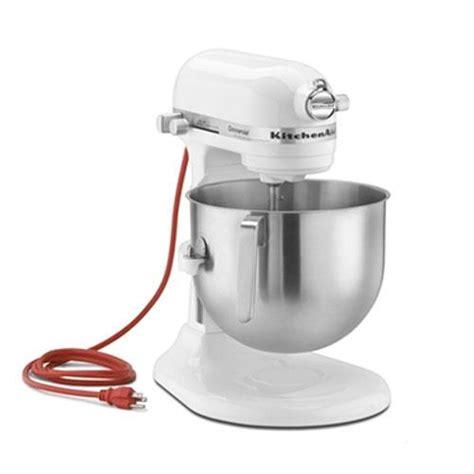 8 Qt Kitchenaid Mixer by Kitchenaid Ksm8990wh White 8 Qt Commercial Stand Mixer Ebay