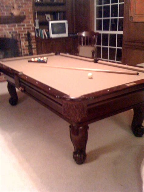 wood pool table billiards forum 8 connolly solid cherry wood pool table