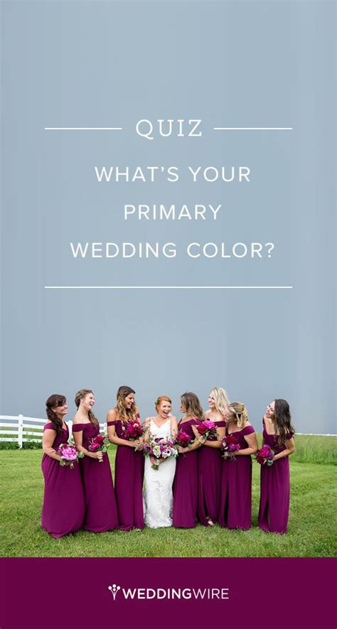 Wedding Quiz by Color Quiz Wedding Colors And Quizes On