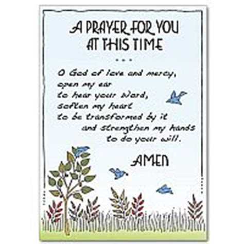 prayers for comfort in difficult times a prayer for inner peace praying for you card difficult times