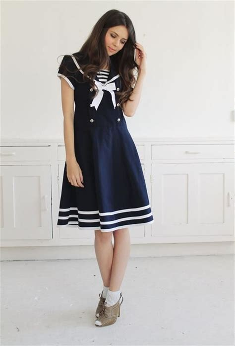 Dres Sailor F sweetest vintage sailor dress nautical sailor fashion