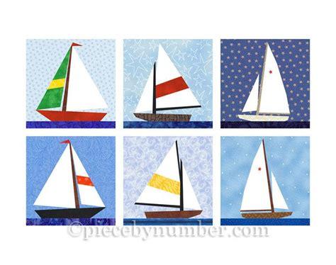 sailboat quilt block patterns sailboat quilt blocks paper pieced quilt pattern instant