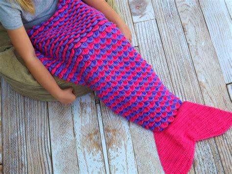 cola sirena tejido para bebe mantas crochet estilo cola de sirena para mujeres y hombres