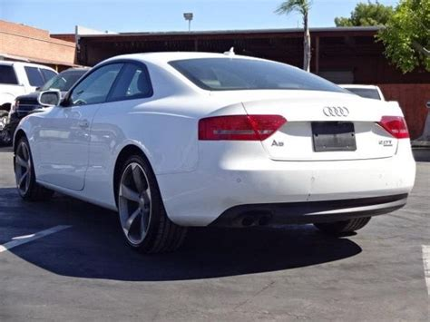 2011 Audi A5 Coupe by 2011 Audi A5 Coupe 2 0t Quattro Tiptronic Salvage Wrecked