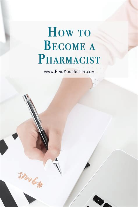 Becoming A Pharmacist by How To Become A Pharmacist Find Your Script
