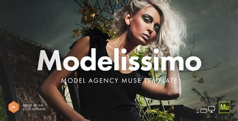 Modelissimo Model Agency Fashion Portfolio Onepage Model Agency Template