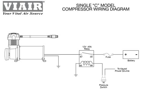 viair 380c air compressor wiring diagram 40 wiring