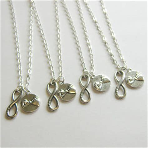 bff infinity necklaces shop 4 best friend necklace on wanelo