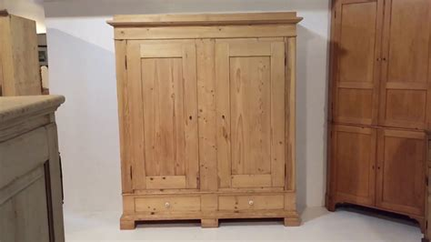 Shelved Wardrobe by Grand Antique Shelved Wardrobe Pinefinders