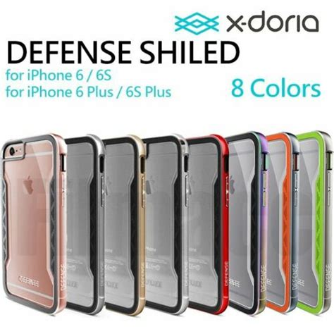 x doria defense cover drop test for iphone 6 6s plus with protector us ebay