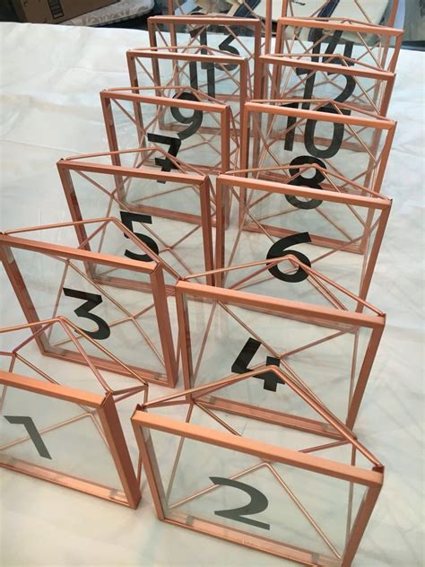 modern wedding table numbers best 25 modern wedding centerpieces ideas on