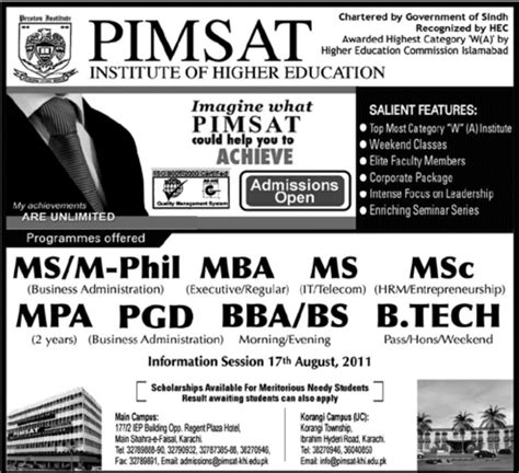 M Phil After Mba Marketing by Bba Bs B Tech Mba Ms M Sc M Phil Mpa Admission In