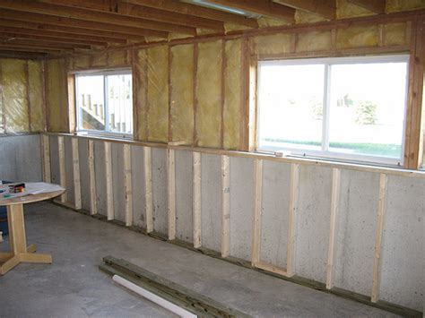 frame basement walls back basement wall frame flickr photo