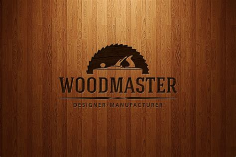 woodworks company wood master logo on behance