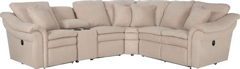 5 pc sectional 5 pc reclining sectional sofa with cupholders and ras
