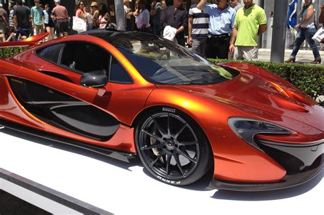 orange mclaren volcano orange mclaren p1 shines in the beverly hills sun