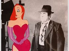 Who Framed Roger Rabbit Production Cel - ID:octroger7602 ... Who Framed Roger Rabbit Jessica Rabbit Scene