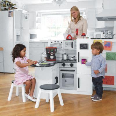Kidkraft Wooden Play Kitchen Set With Stools by Kidkraft Wooden Play Kitchen Set With Stools