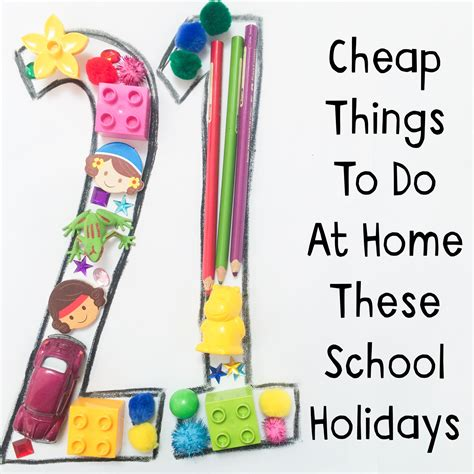 To Do At Home by 21 Cheap Things To Do At Home These School Holidays Oh
